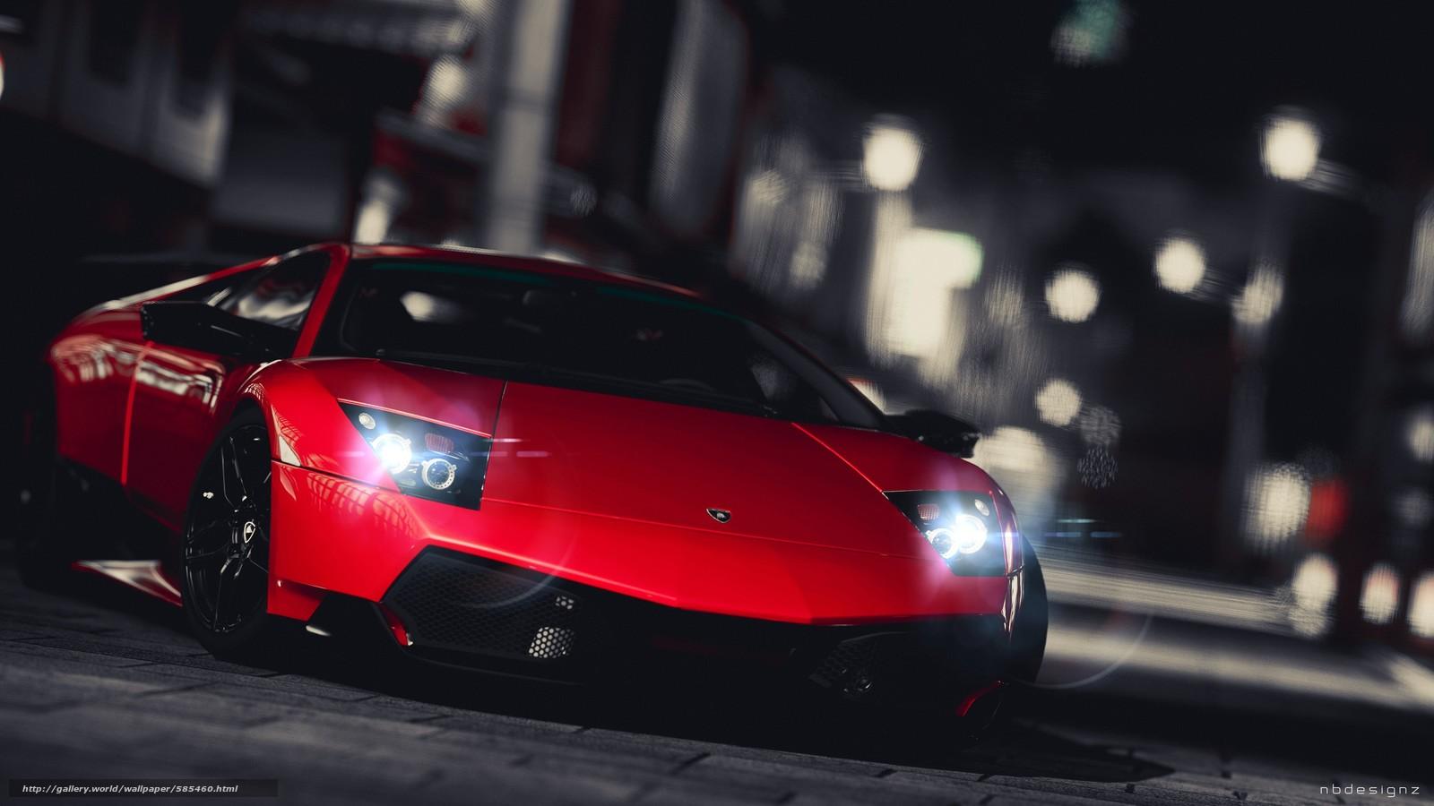 Скачать обои Lamborghini бесплатно для рабочего стола в разрешении 3840x2160 — картинка №585460