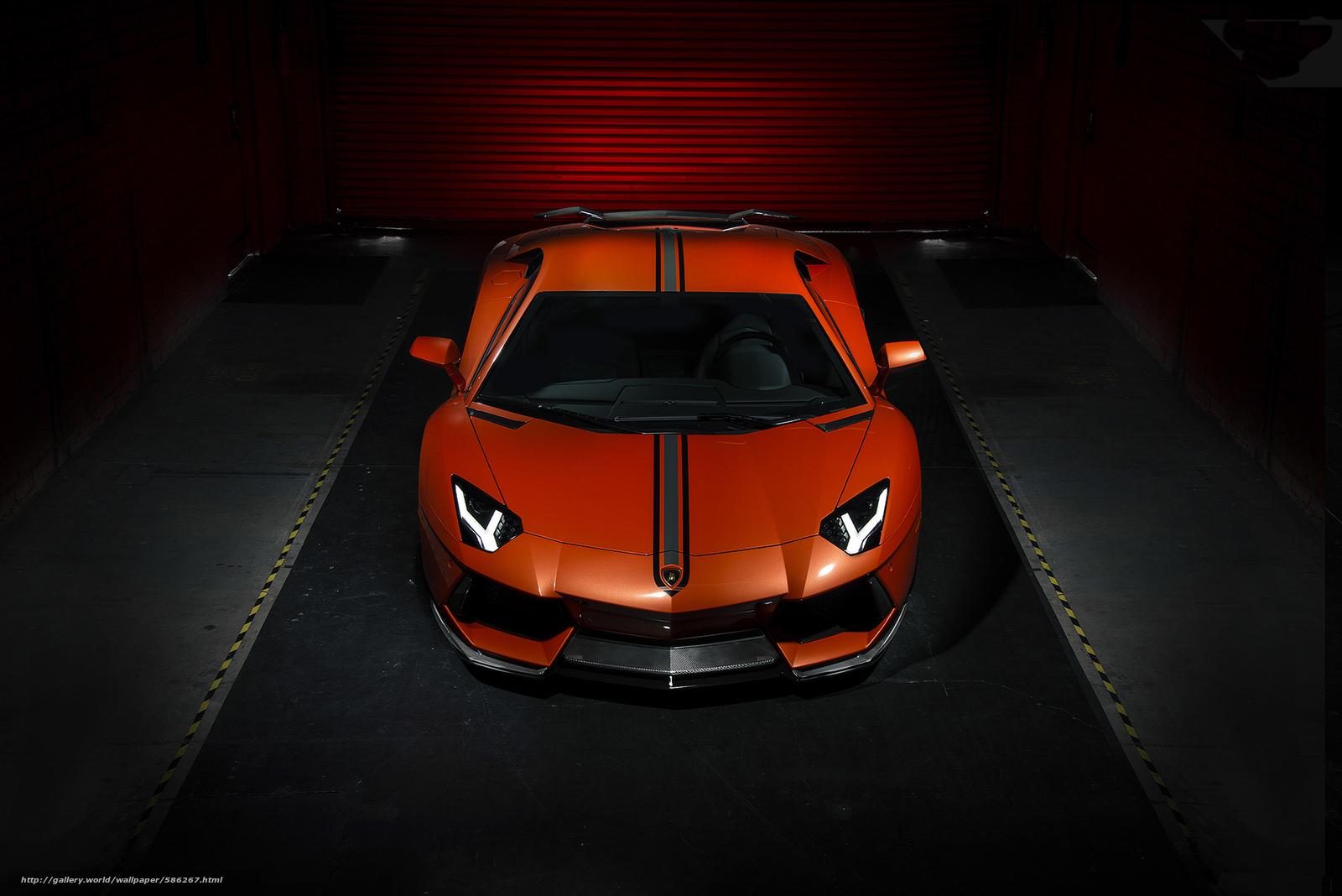 Скачать обои авентадор,  Lamborghini,  ламборджини бесплатно для рабочего стола в разрешении 1920x1281 — картинка №586267