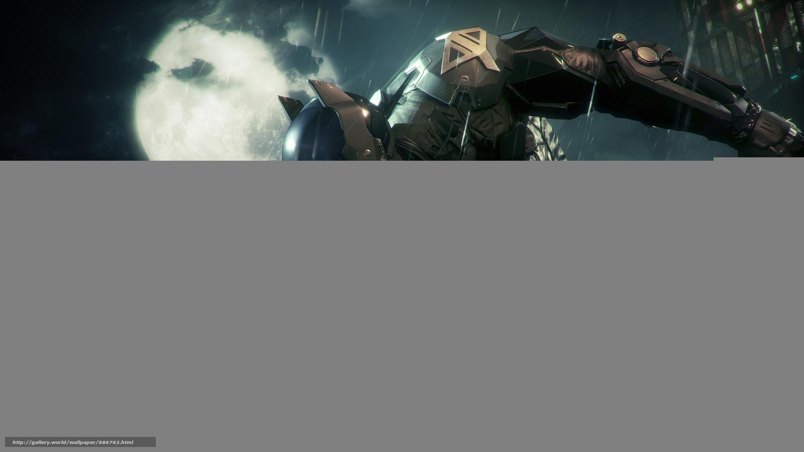 Скачать обои Arkham Knight,  Batman,  Batman: Arkham Knight,  Games бесплатно для рабочего стола в разрешении 1920x1080 — картинка №586762
