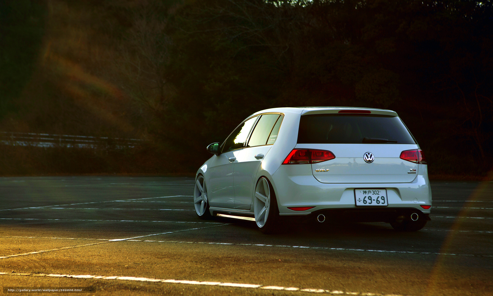 scaricare gli sfondi golf,  Volkswagen,  Volkswagen Sfondi gratis per la risoluzione del desktop 2300x1380 — immagine №586808