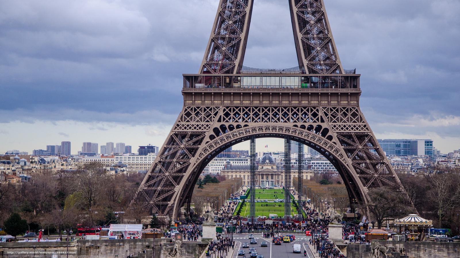 Tlcharger Fond D Ecran Paris Tour Eiffel France Fonds D