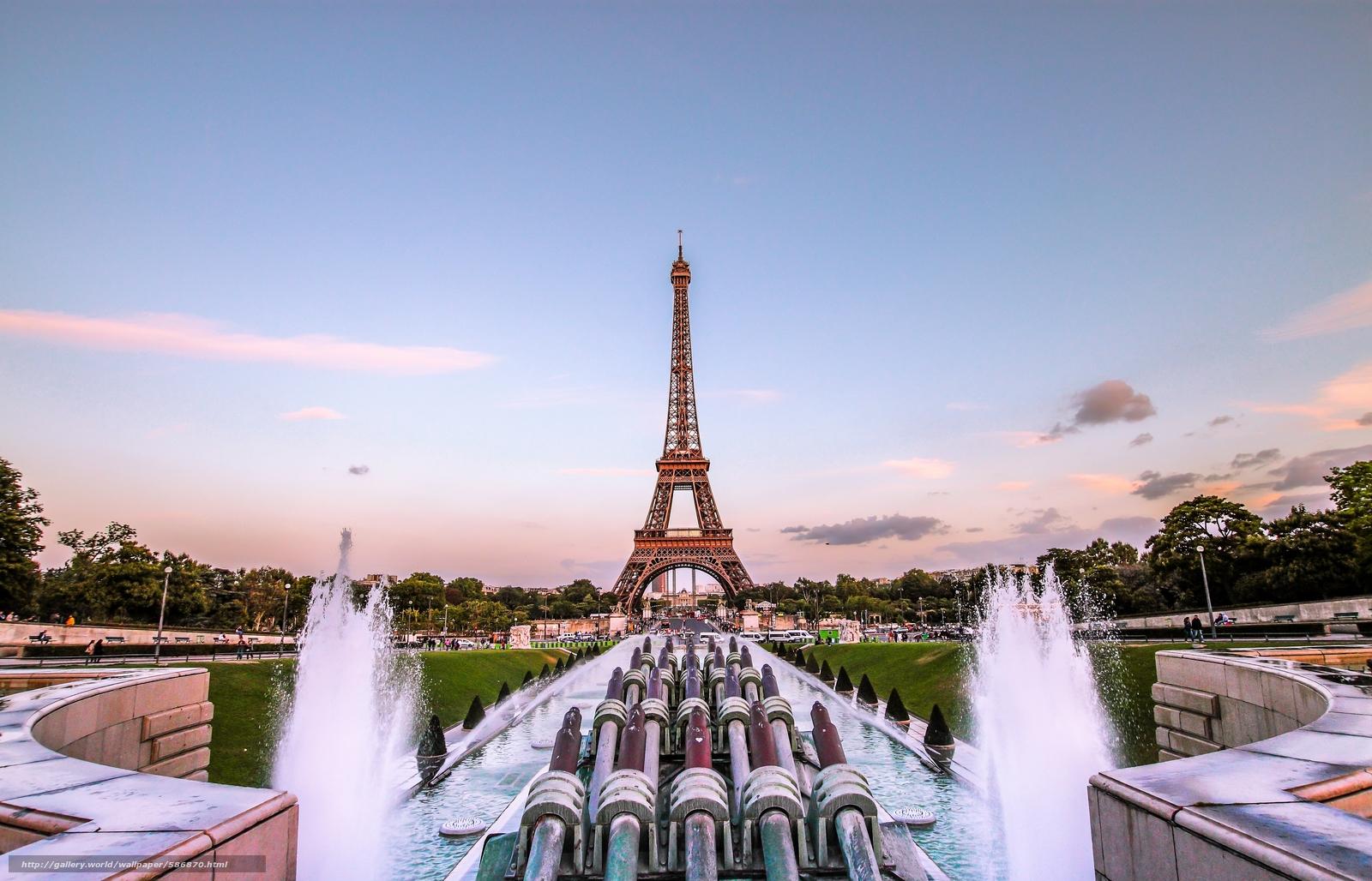 Tlcharger Fond D Ecran Tour Eiffel Paris Paris Tour