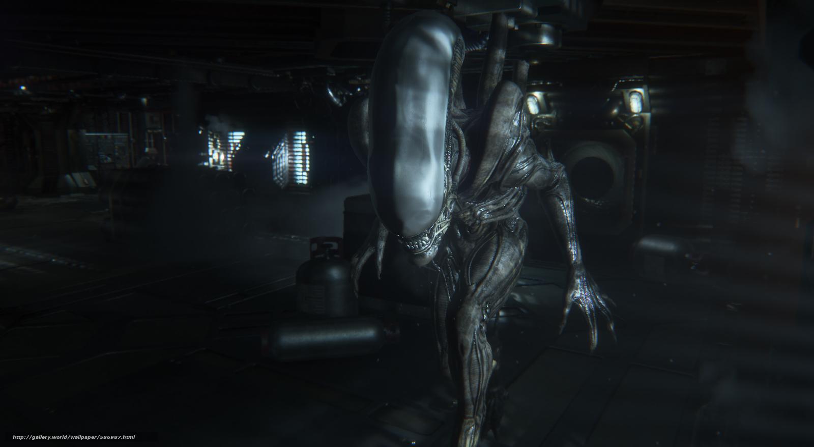pobra tapety Alien,  Obcy: Izolacja,  gry Darmowe tapety na pulpit rozdzielczoci 1920x1054 — zdjcie №586987