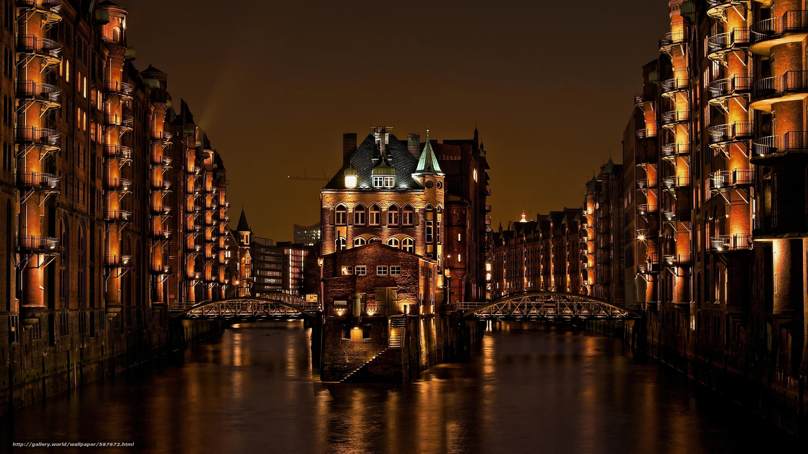 Download wallpaper home,  Speicherstadt,  Germany,  channel free desktop wallpaper in the resolution 3000x1688 — picture №587672