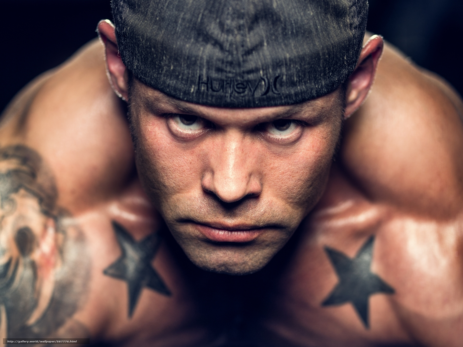 Download wallpaper guy,  tattoo,  face,  view free desktop wallpaper in the resolution 3600x2700 — picture №587776