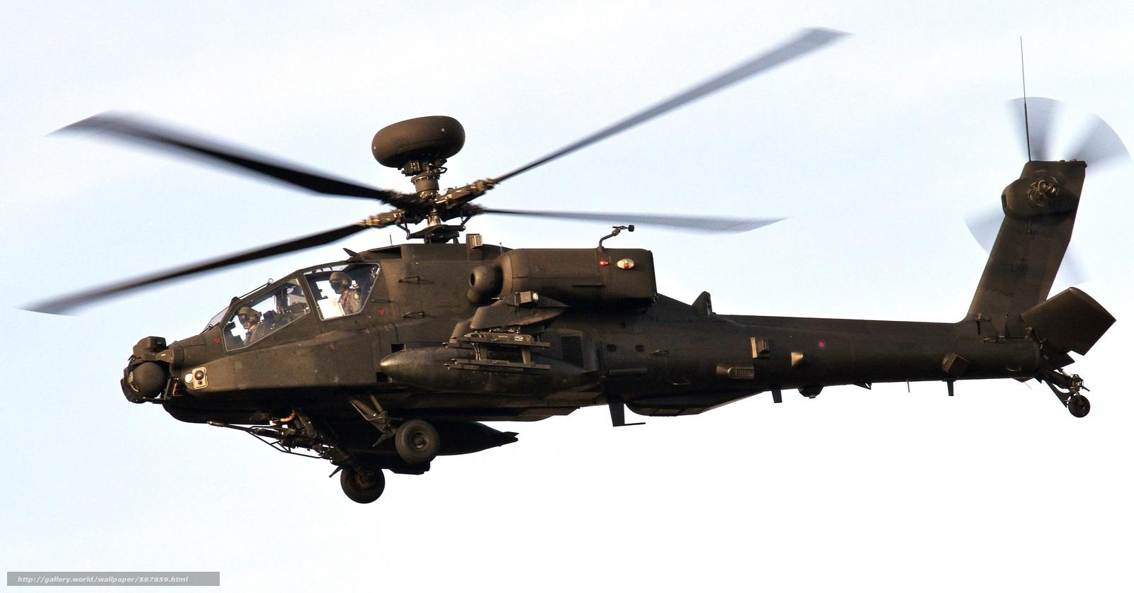 Скачать обои вертолёт,  небо,  армии США,  основной бесплатно для рабочего стола в разрешении 3206x1677 — картинка №587859