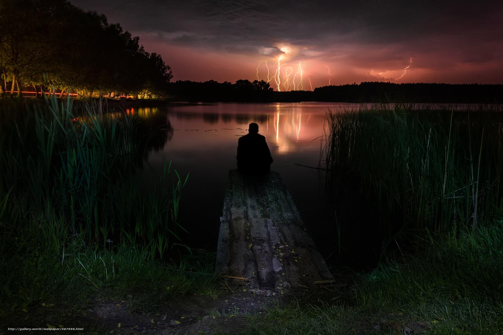 Скачать обои Гроза,  молния,  свет,  гром бесплатно для рабочего стола в разрешении 1920x1280 — картинка №587998