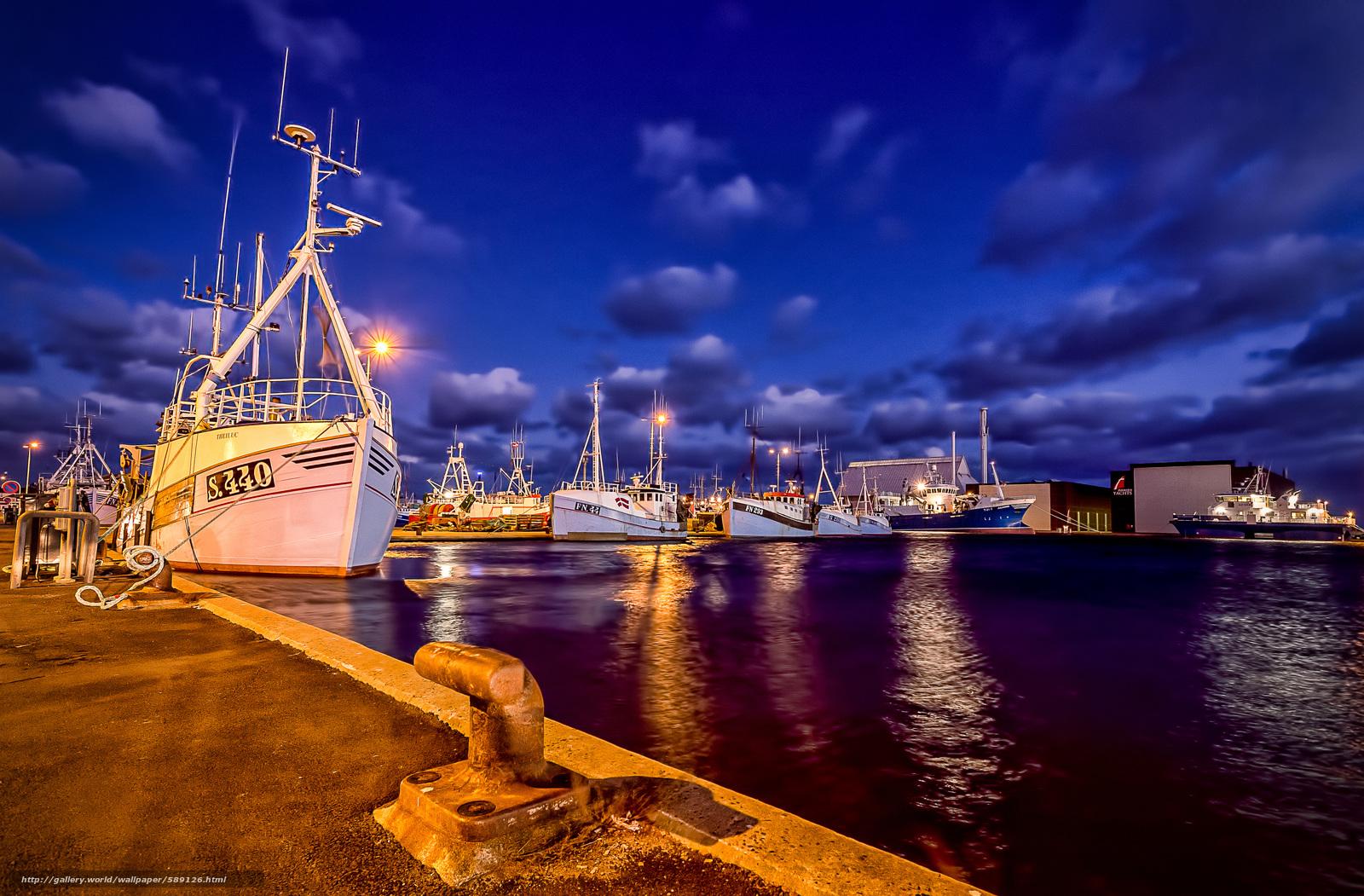 Download wallpaper Skagen,  Denmark,  ships,  port free desktop wallpaper in the resolution 5073x3333 — picture №589126