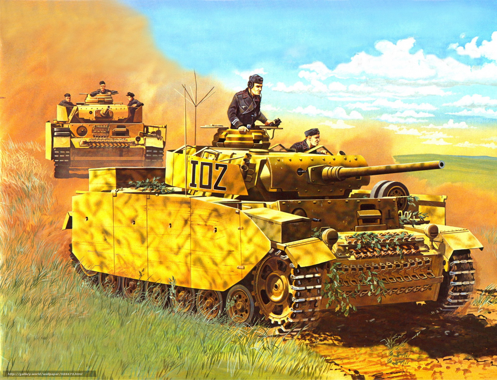 Attractive Free Download The Art Of War #1: 589673_art_tanki_germaniya_vermaht_vov_panzerkampfwagen-i_2619x2000_www.Gde-Fon.com.jpg