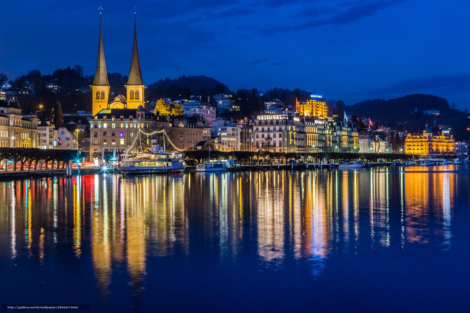Обои люцерн, швейцария. Города foto 17