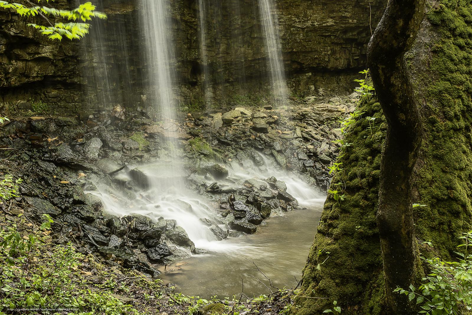 Descargar gratis cascada,  Rocas,  árboles,  naturaleza Fondos de escritorio en la resolucin 2100x1400 — imagen №590915