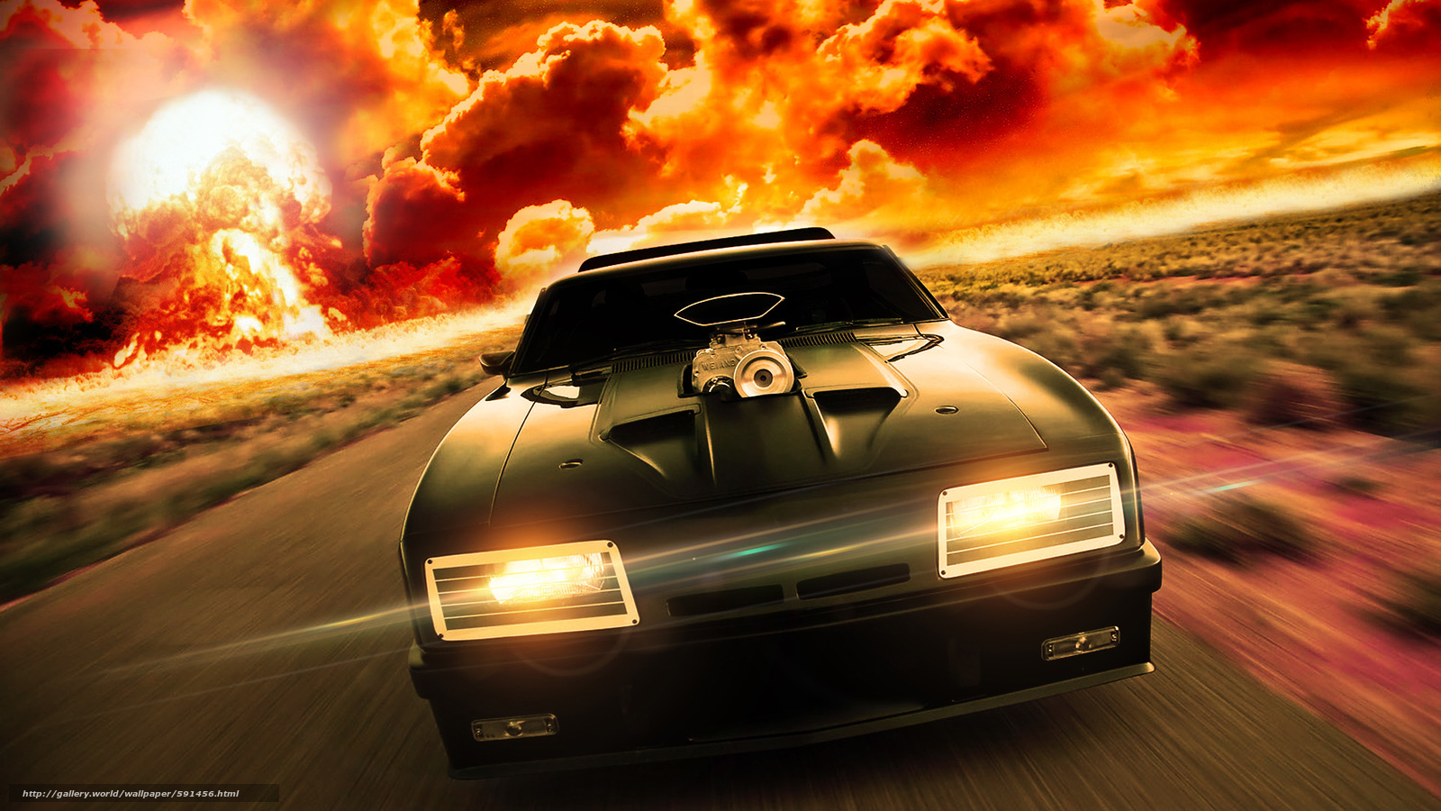 Download Wallpaper Car Speed Fire Flame Free Desktop Wallpaper In