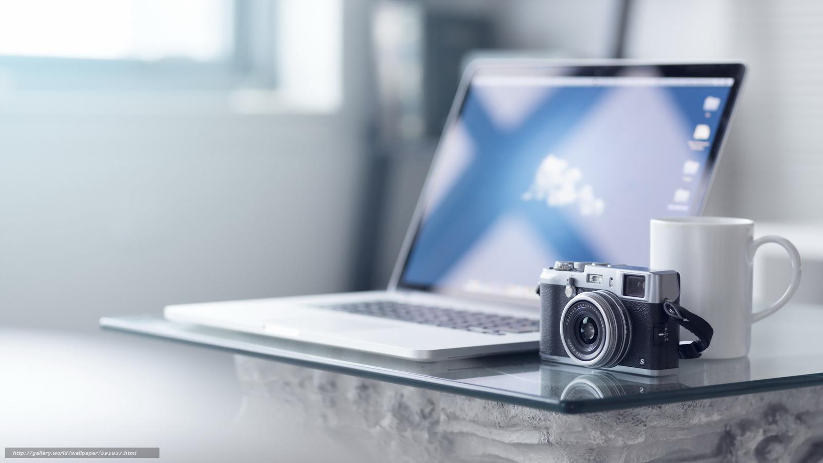 Download wallpaper Fuji X100S,  camera,  background free desktop wallpaper in the resolution 2560x1440 — picture №591837