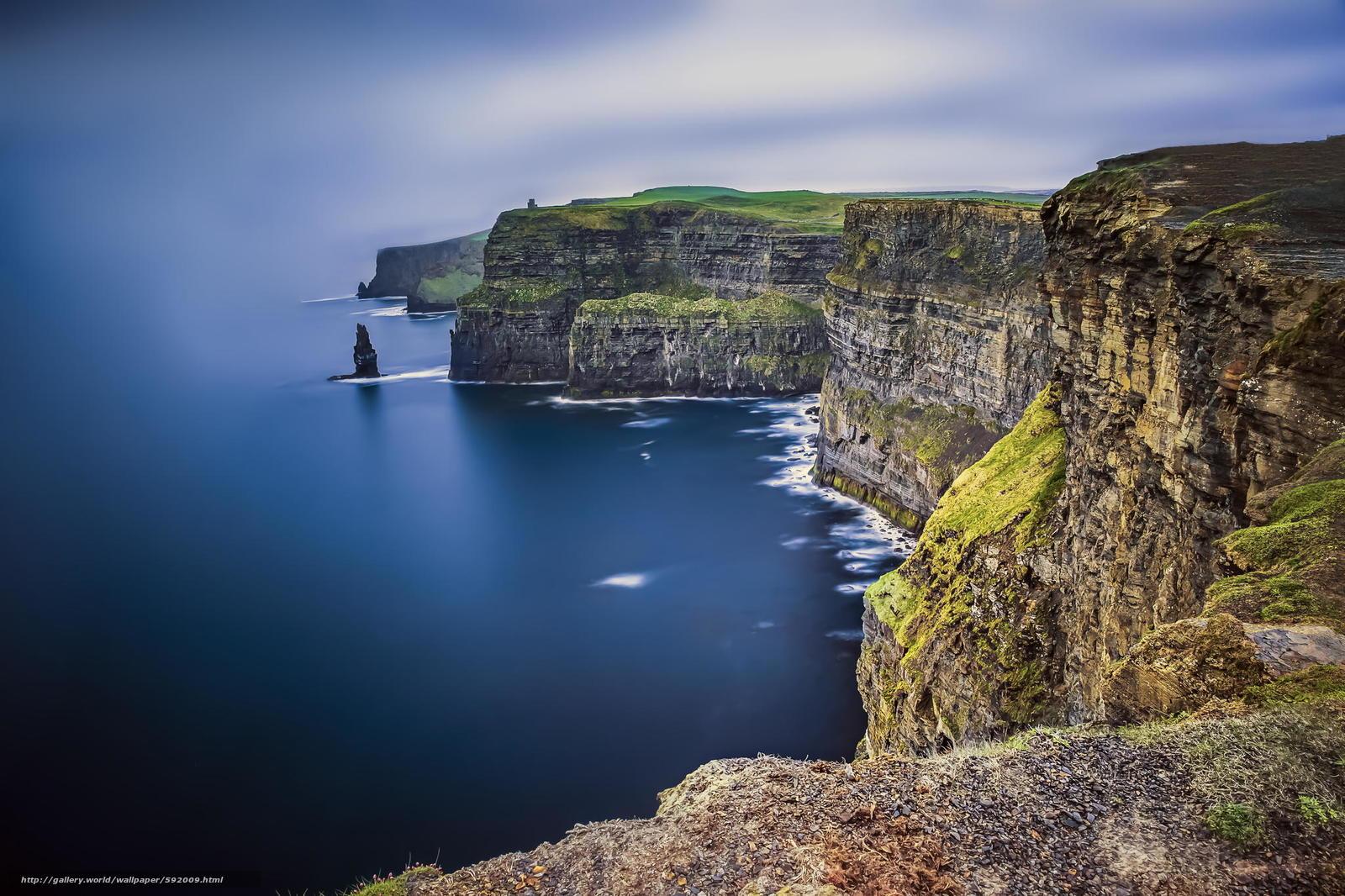 Tlcharger Fond Decran Mer Rocks Irlande Fonds