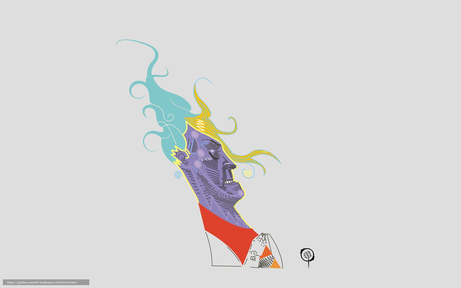 Download wallpaper portrait,  cgi,  digital,  background free desktop wallpaper in the resolution 2880x1800 — picture №593334