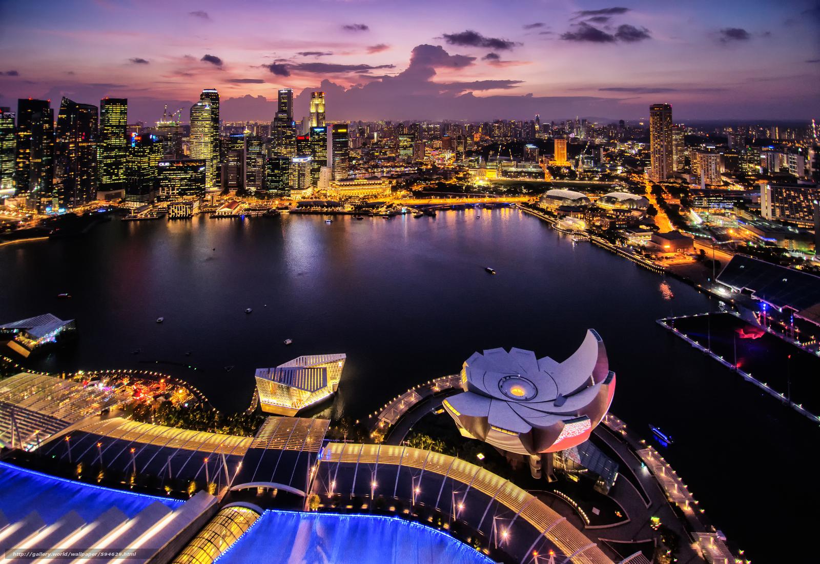 Descargar gratis Singapur,  Singapur,  ciudad Fondos de escritorio en la resolucin 4000x2750 — imagen №594629