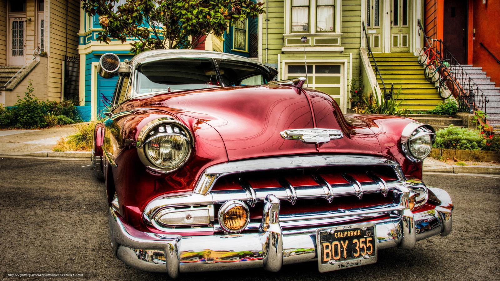 Скачать обои classic,  car,  nostalgia бесплатно для рабочего стола в разрешении 1920x1080 — картинка №595151