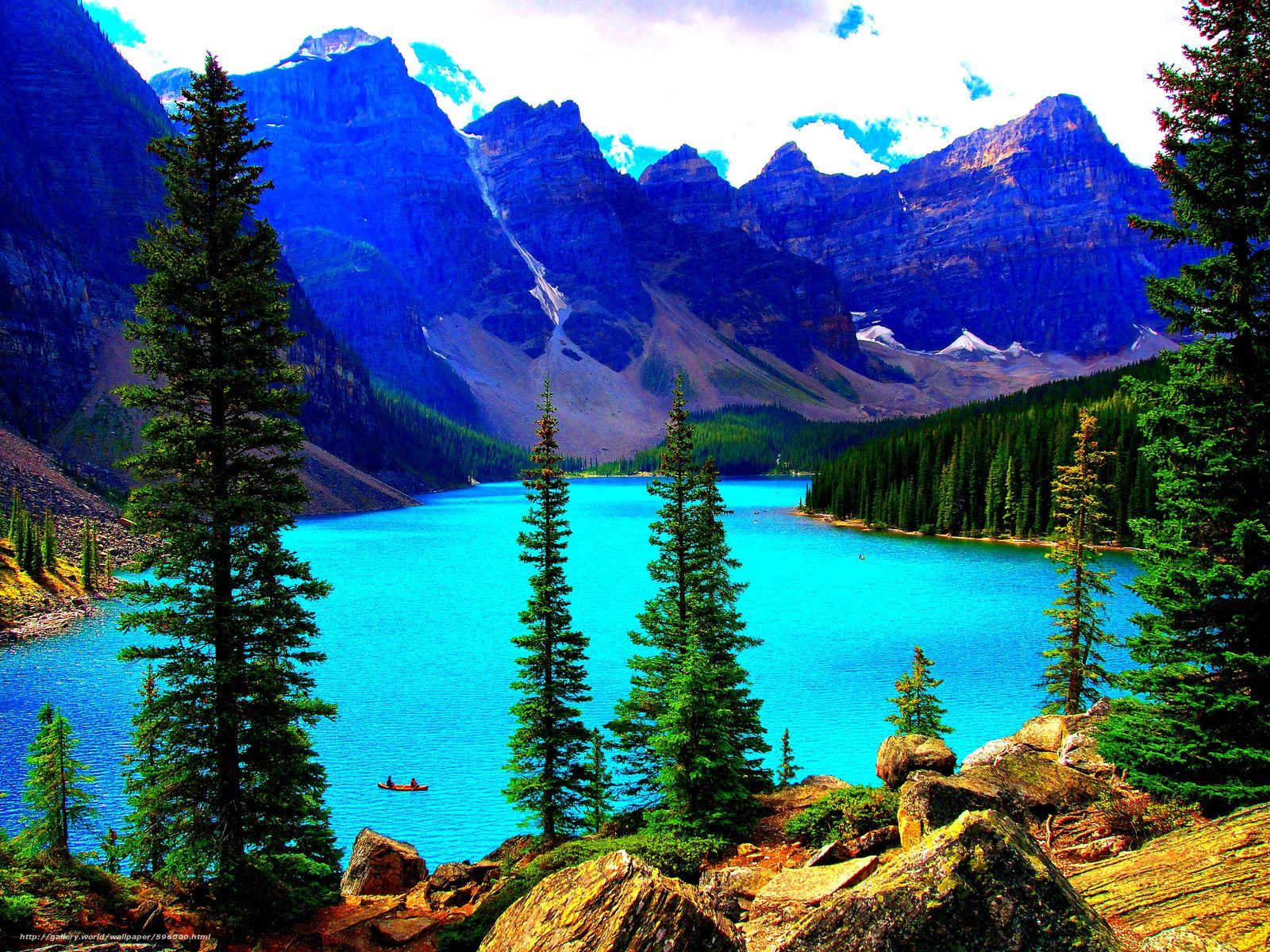 Tlcharger Fond d'ecran Lake Louise,  Alberta,  Canada Fonds d'ecran gratuits pour votre rsolution du bureau 4608x3456 — image №596000