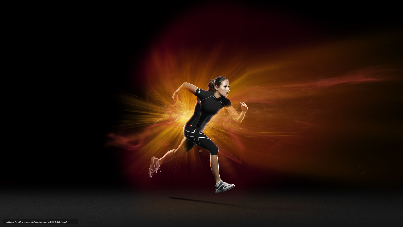 Download Wallpaper Sport, Girls, Fashion Tight, Gym Free