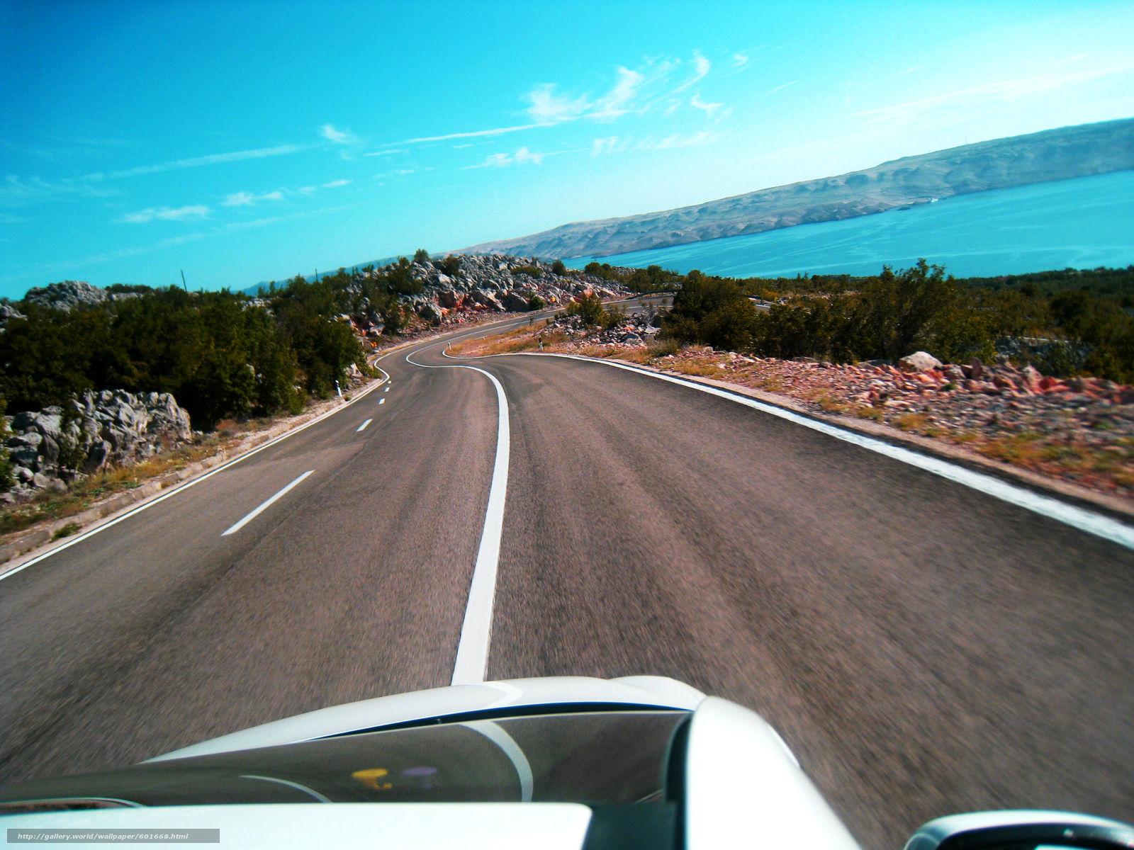 Download Hintergrund Straße,  Kroatien,  Meer,  Grau Freie desktop Tapeten in der Auflosung 2592x1944 — bild №601668