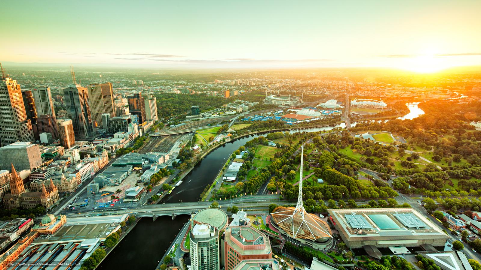 Wallpaper Melbourne Australia - The Wallpaper