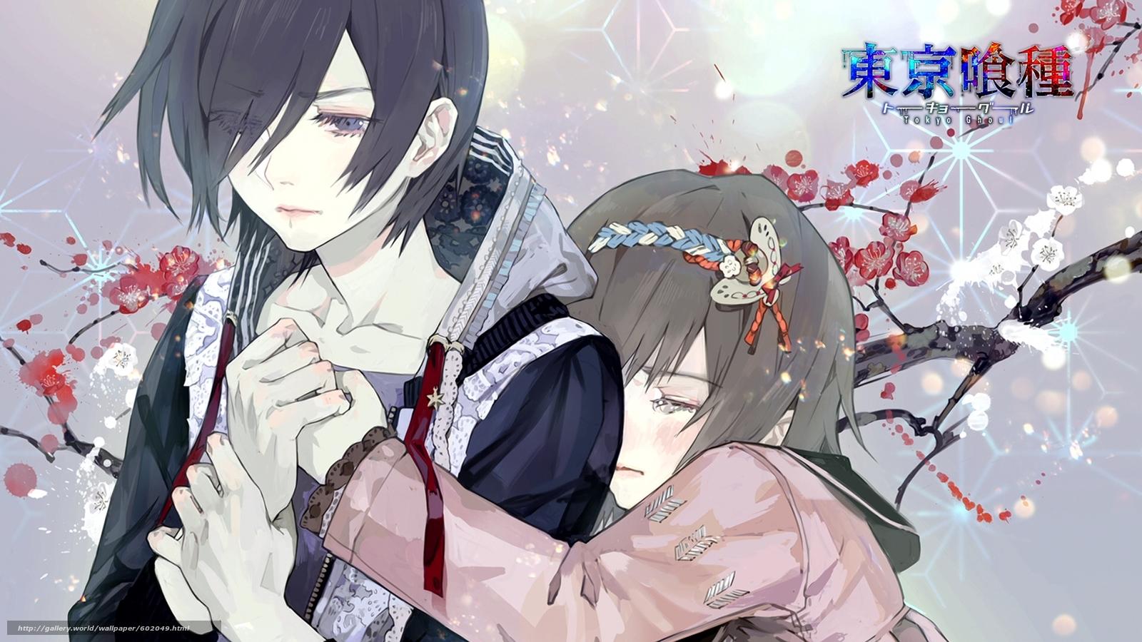 Download wallpaper anime,  Tokyo ghoul,  despair free desktop wallpaper in the resolution 1920x1080 — picture №602049