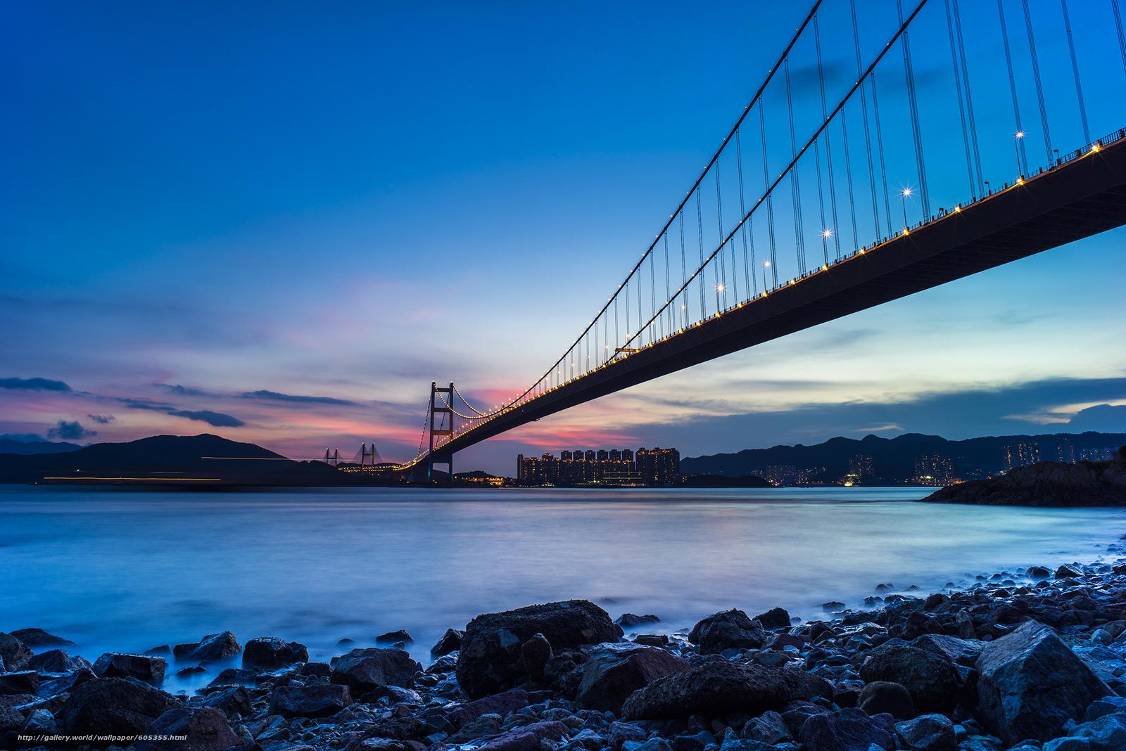 下载壁纸 桥,  西草湾,  青衣,  香港 免费为您的桌面分辨率的壁纸 2248x1500 — 图片 №605355