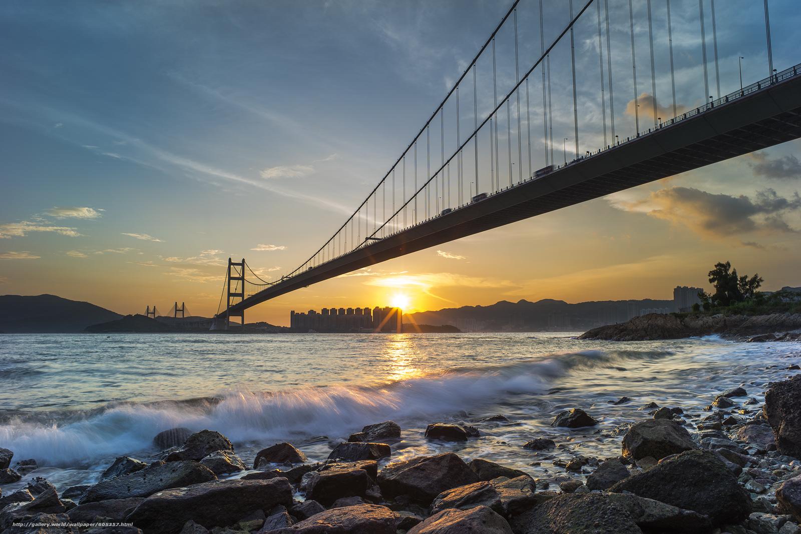 下载壁纸 桥,  西草湾,  青衣,  香港 免费为您的桌面分辨率的壁纸 2248x1500 — 图片 №605357