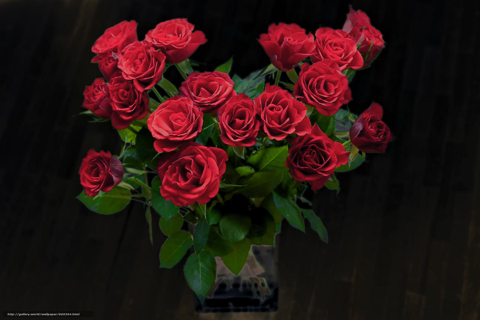 Fond D Ecran Bouquet De Rose Motortrends