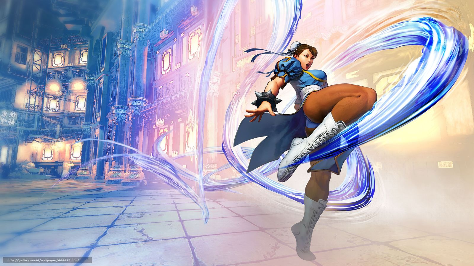 Download wallpaper Street_fighter_5,  Fighting,  painting,  girl free desktop wallpaper in the resolution 5351x3010 — picture №609873