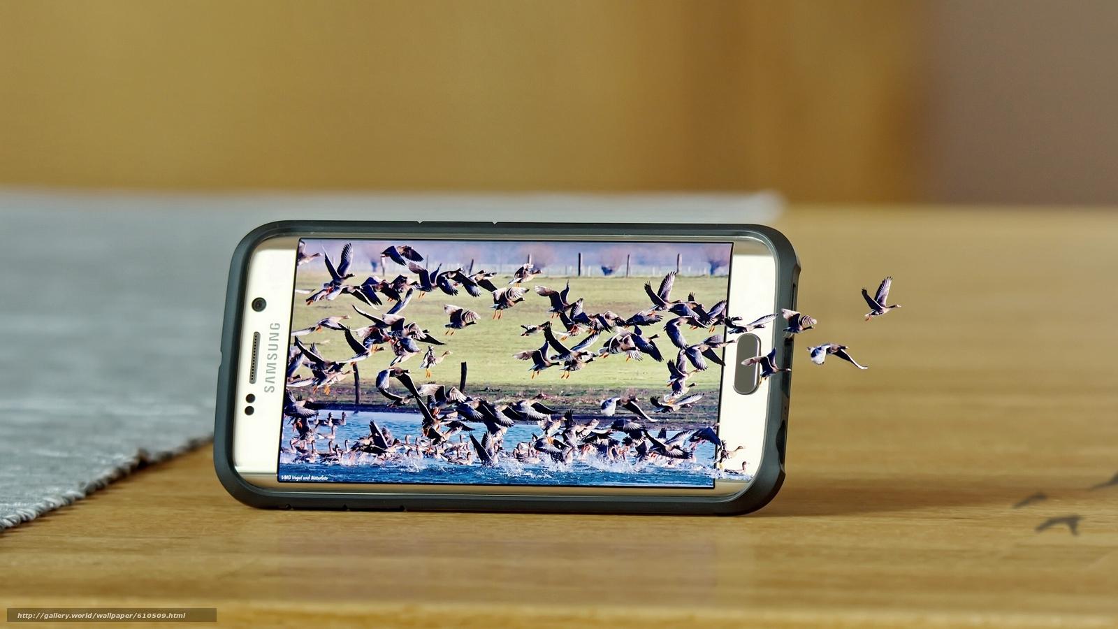Tlcharger fond d 39 ecran samsung galaxy s6 bord samsung for Fond ecran smartphone