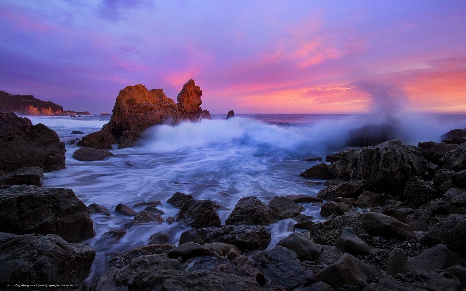 Download Wallpaper Corona Del Mar California Pacific