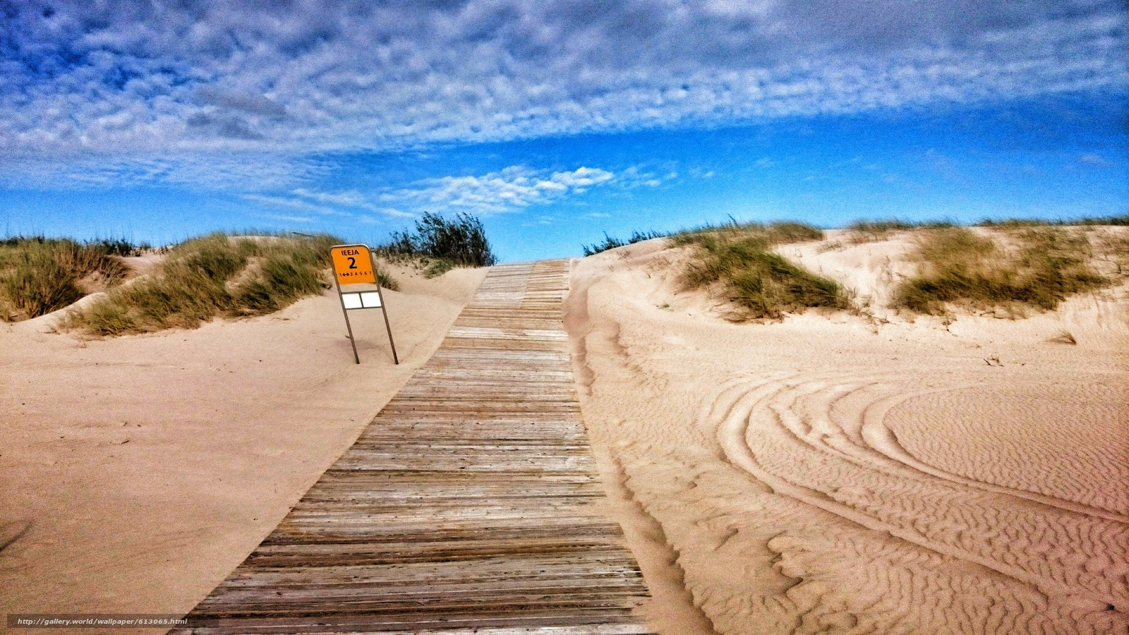 Tlcharger fond d 39 ecran route mer plage ensoleill fonds for Fond ecran plage gratuit