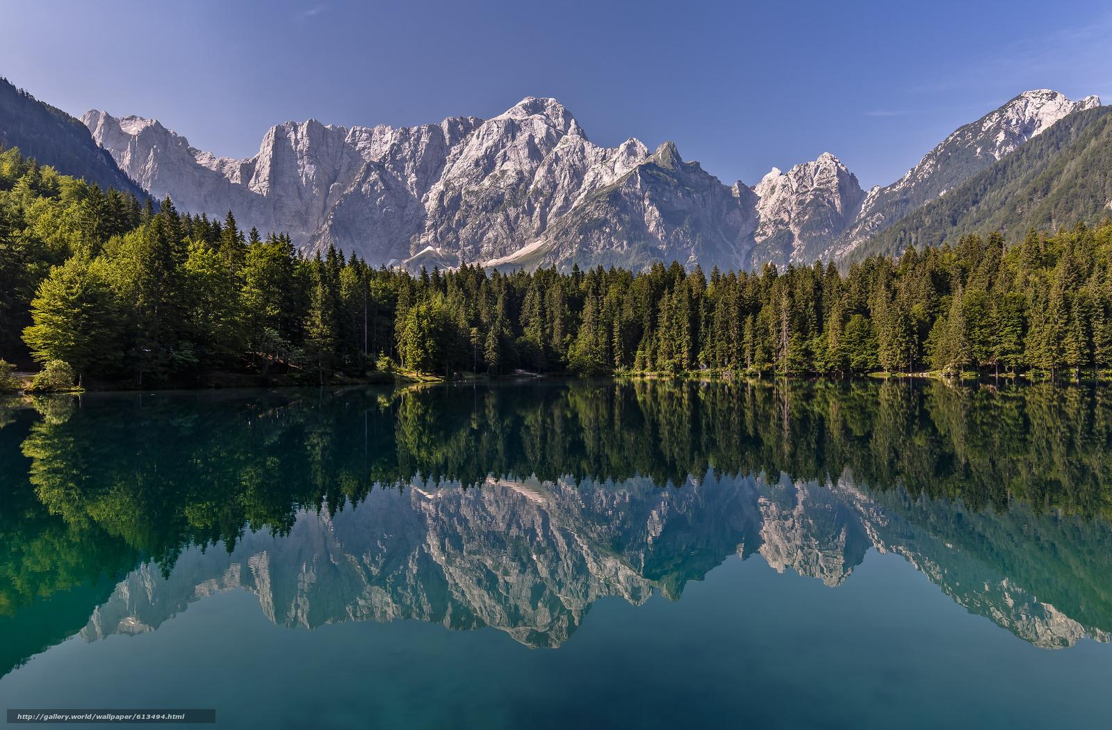 Скачать обои Mirror Lake,  Yosemite National Park,  California,  Sierra Nevada бесплатно для рабочего стола в разрешении 2048x1344 — картинка №613494