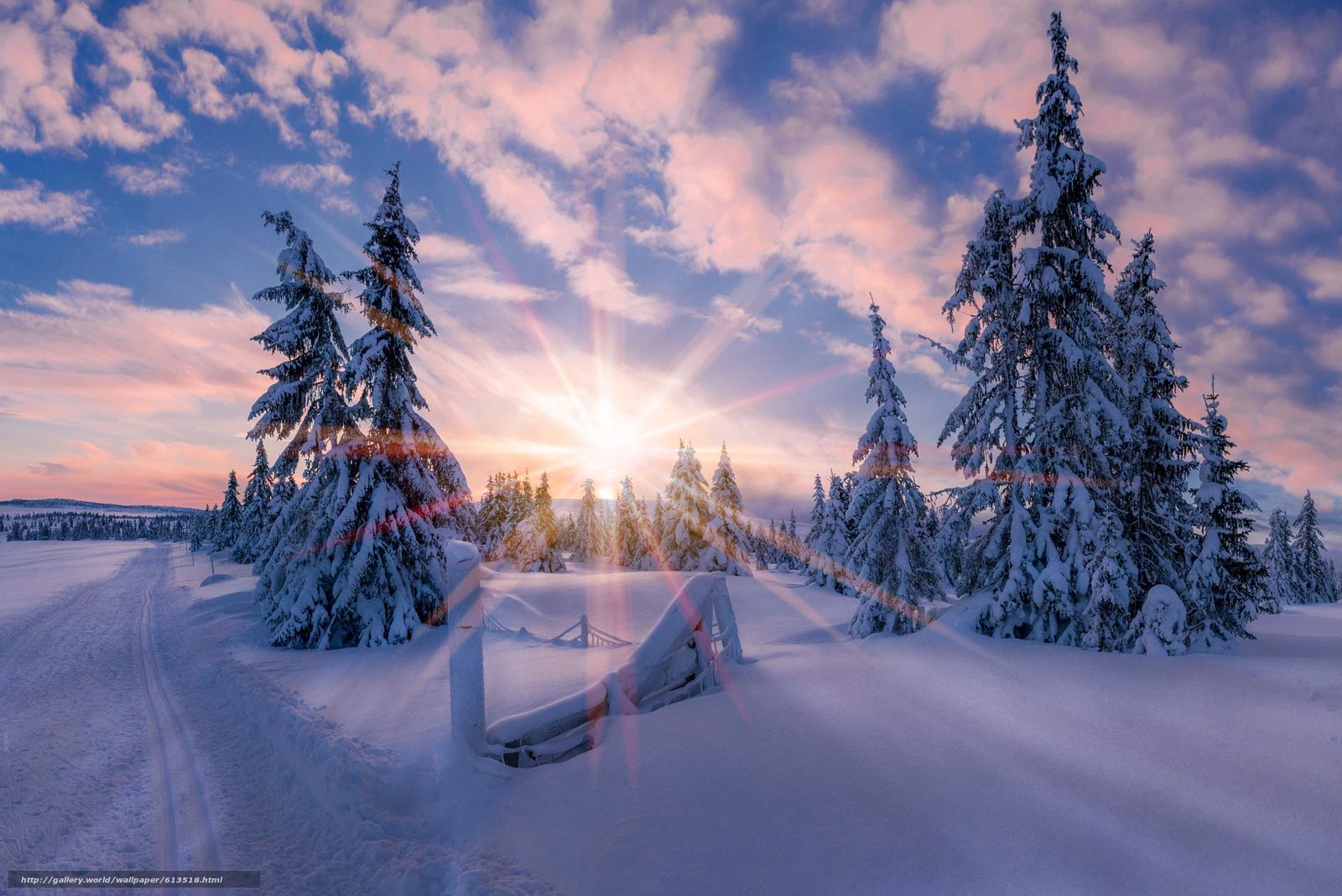 scaricare gli sfondi norvegia,  Norvegia,  inverno,  nevicata Sfondi gratis per la risoluzione del desktop 2048x1368 — immagine №613518
