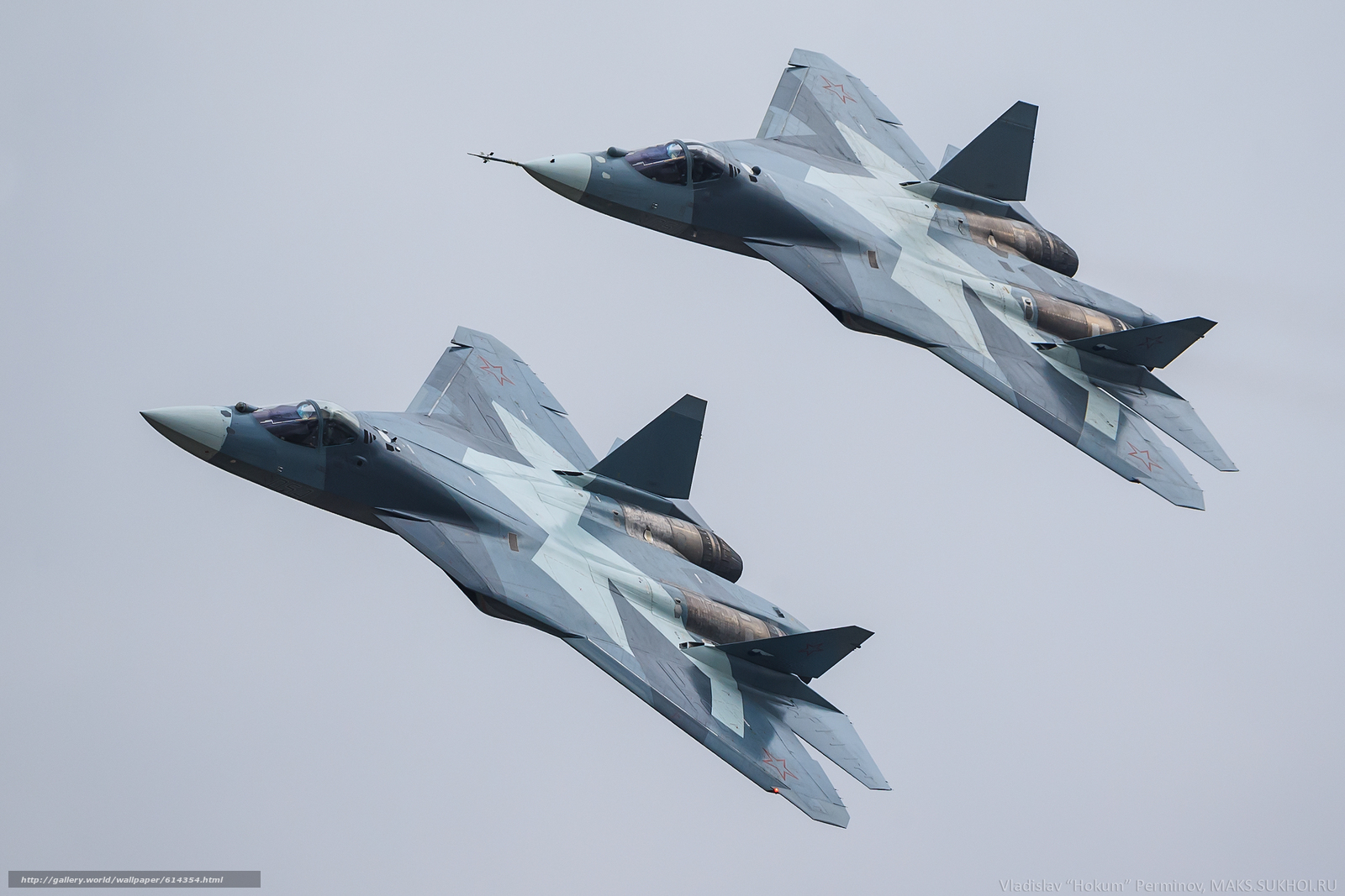 Download wallpaper aviation,  Air force,  Russia,  PAK FA free desktop wallpaper in the resolution 2560x1707 — picture №614354