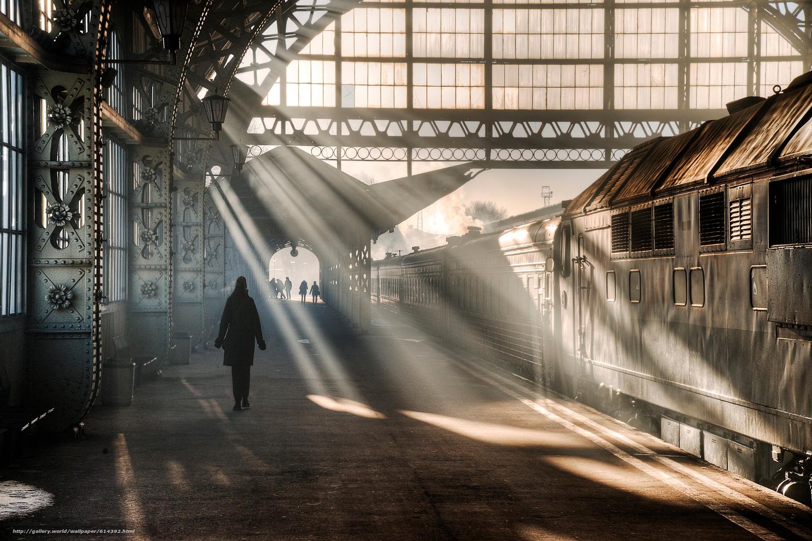 Скачать обои Витебский,  вокзал,  Санкт-Петербург,  Ленинград бесплатно для рабочего стола в разрешении 2048x1364 — картинка №614392
