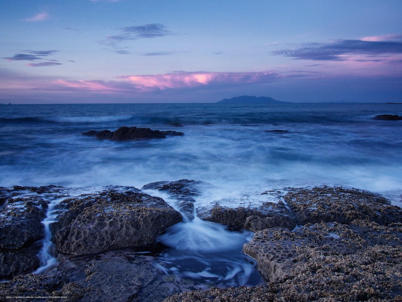 Tlcharger Fond d'ecran coucher du soleil,  mer,  Rocks,  paysage Fonds d'ecran gratuits pour votre rsolution du bureau 2304x1728 — image №614533