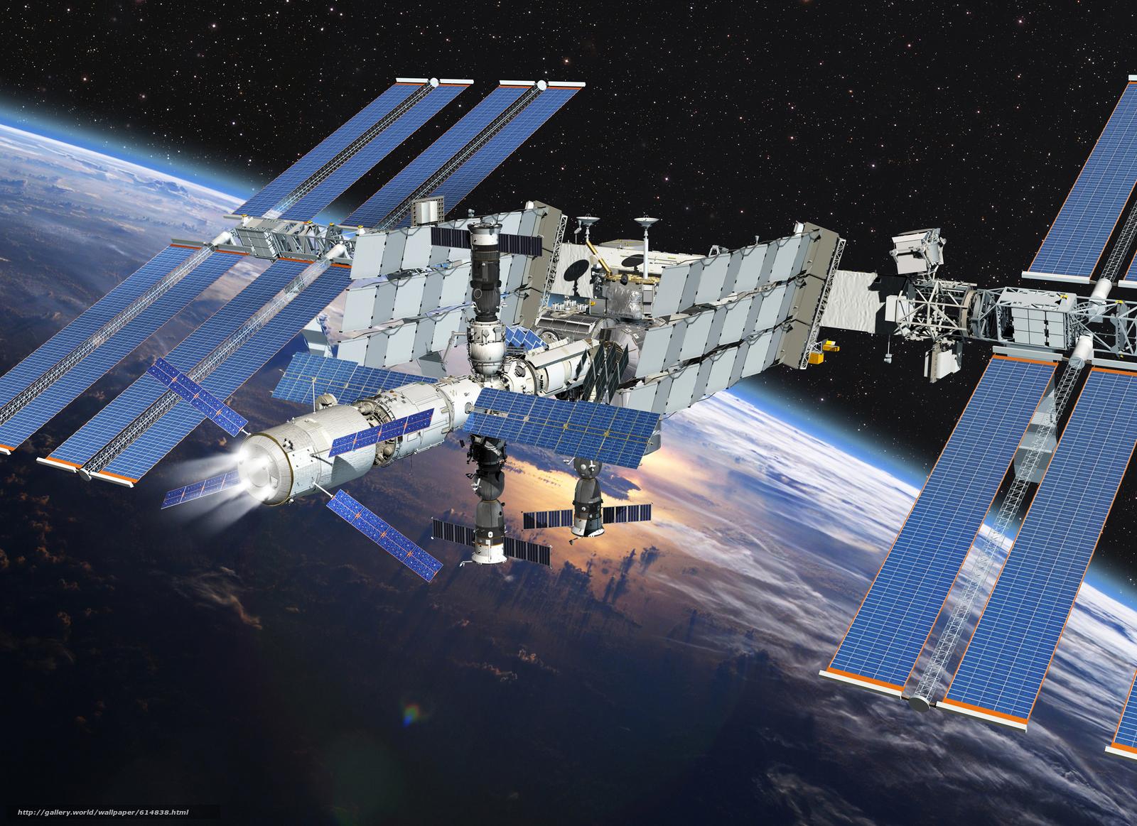 scaricare gli sfondi ISS,  terra,  spazio,  scienza Sfondi gratis per la risoluzione del desktop 3000x2181 — immagine №614838
