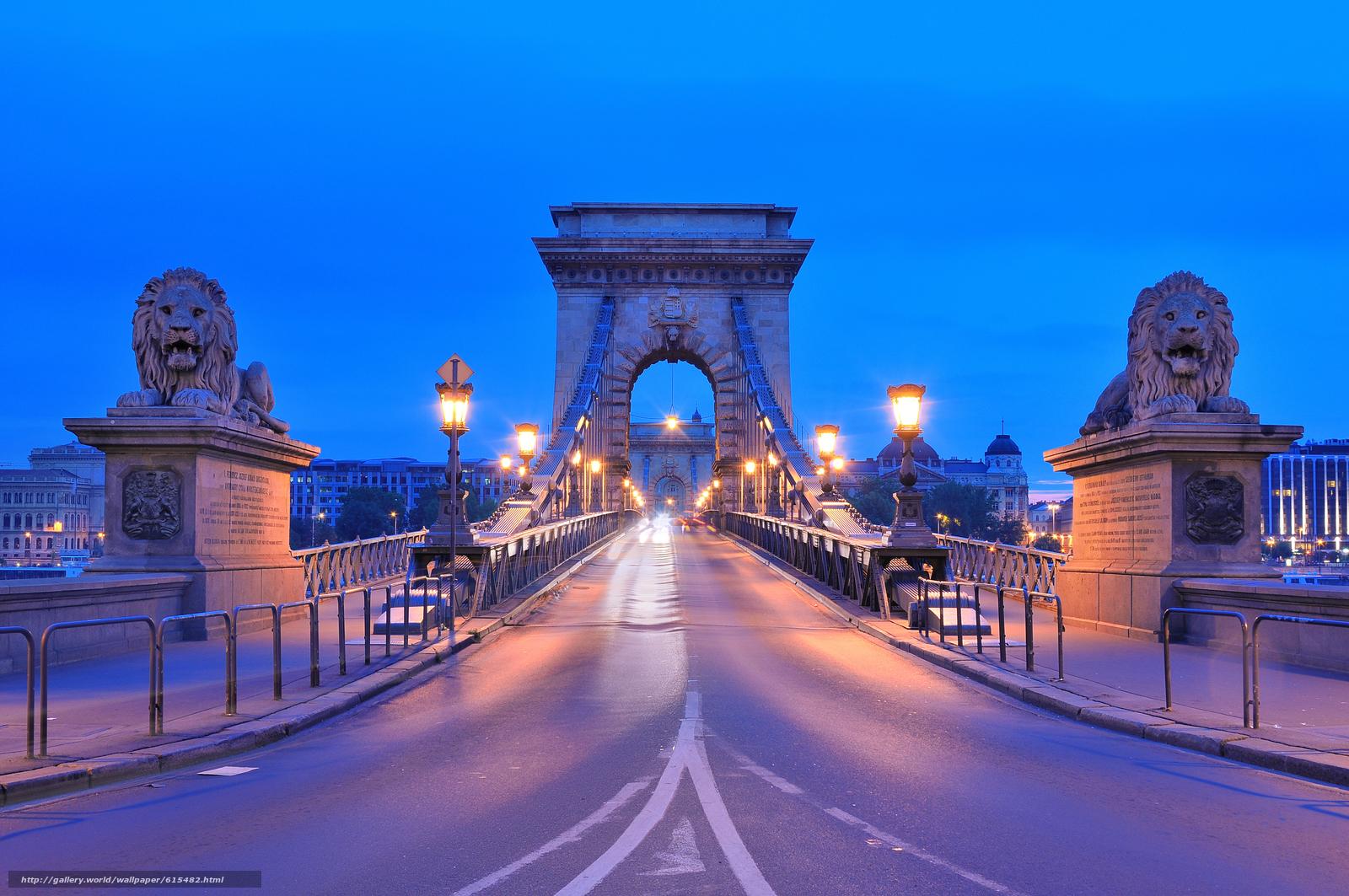下载壁纸 链桥,  布达佩斯,  匈牙利 免费为您的桌面分辨率的壁纸 4288x2848 — 图片 №615482