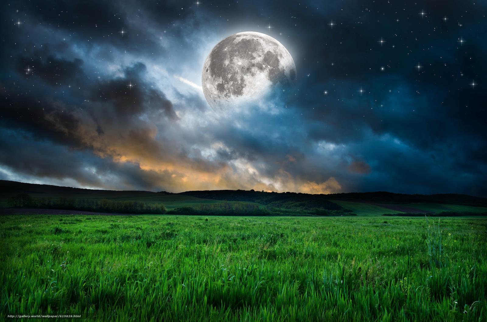 tlcharger fond d 39 ecran lune ciel toile nuages fonds d 39 ecran gratuits pour votre rsolution du. Black Bedroom Furniture Sets. Home Design Ideas