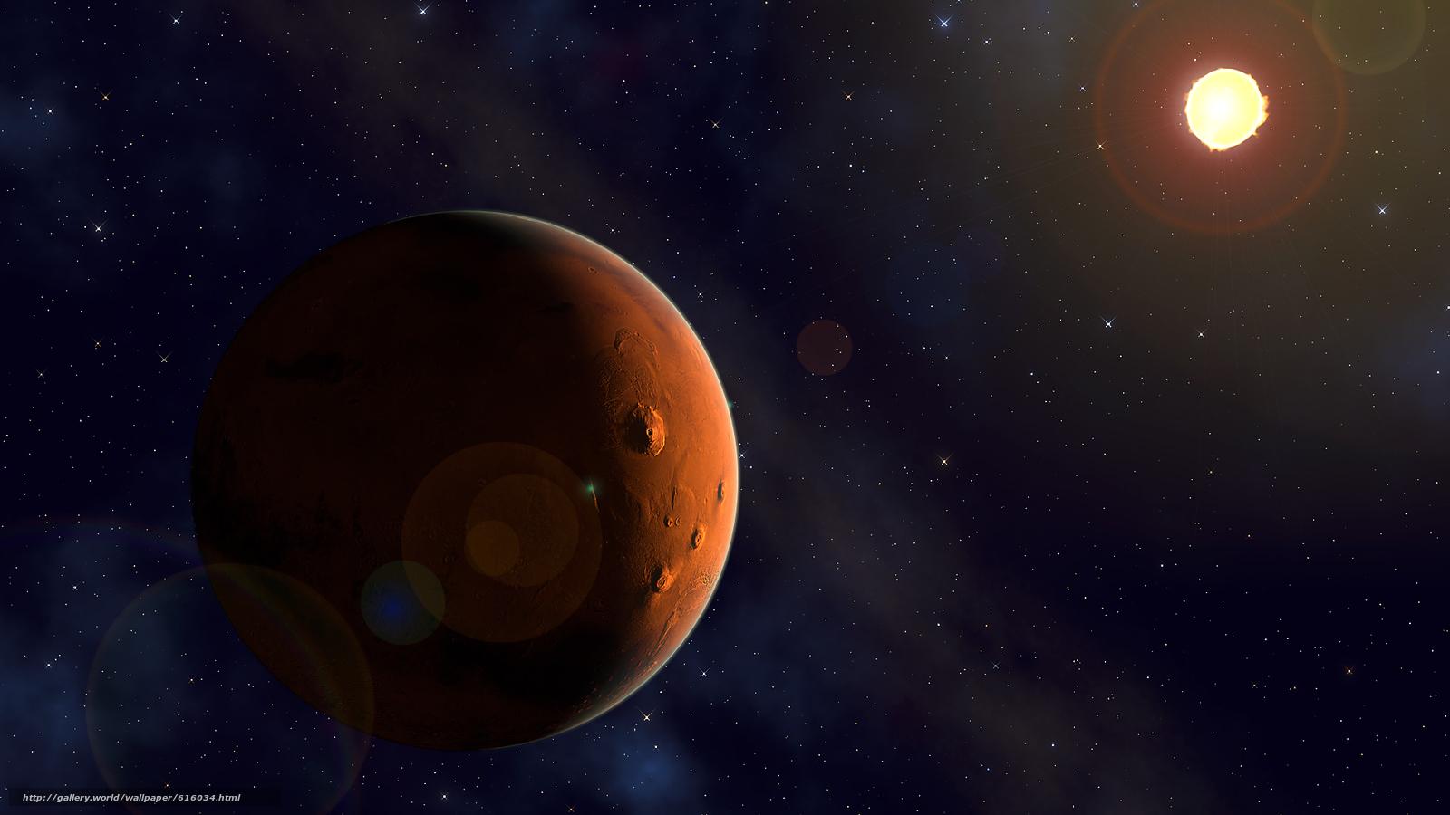 Descargar gratis Marte,  sol,  espacio,  Estrella Fondos de escritorio en la resolucin 1920x1080 — imagen №616034