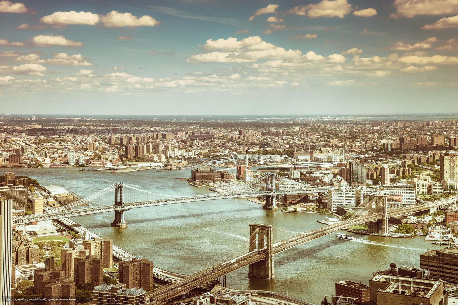 Tlcharger fond d ecran new york city brooklyn bridge manhattan