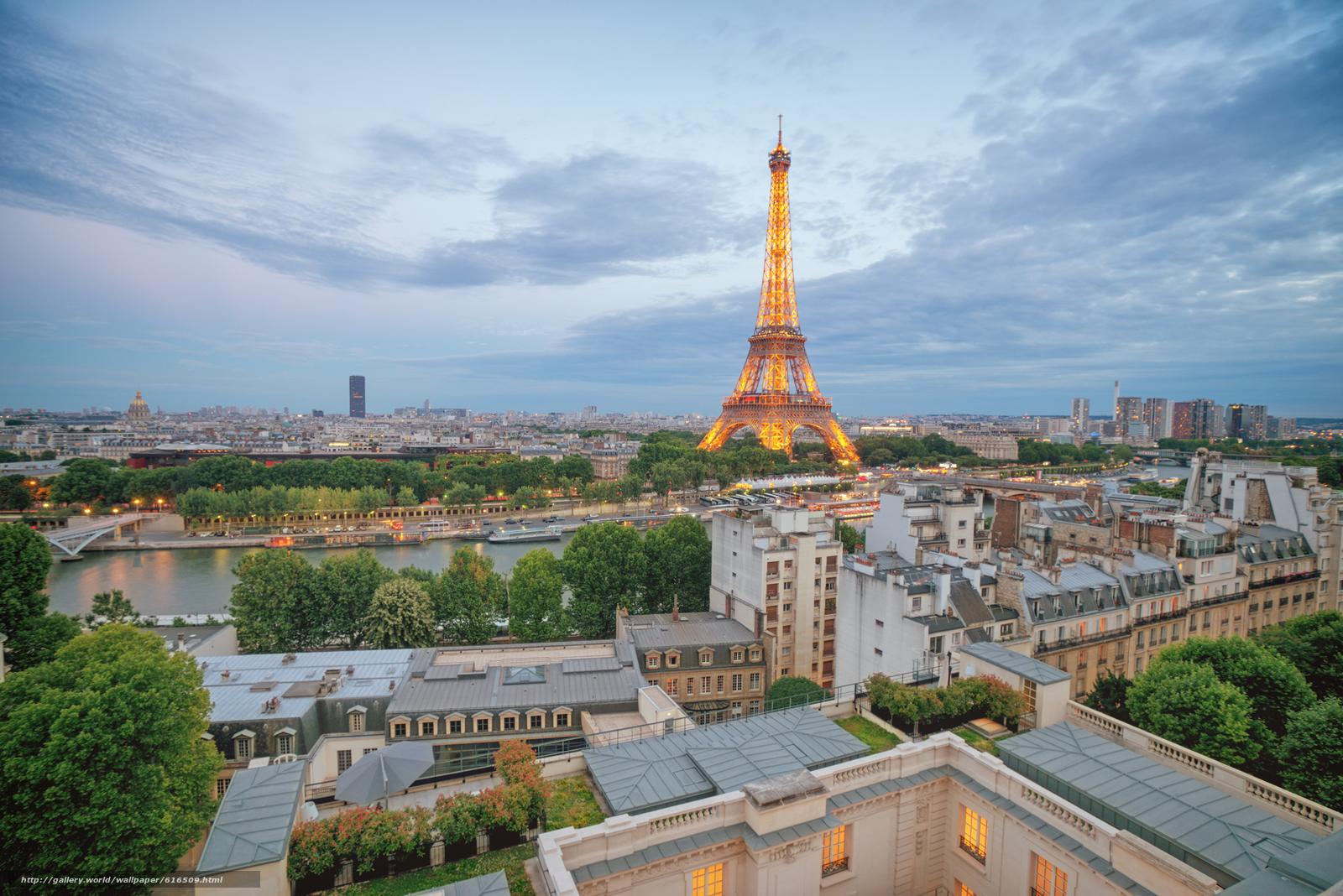 下载壁纸 巴黎,  艾菲尔铁塔,  法国 免费为您的桌面分辨率的壁纸 2248x1500 — 图片 №616509