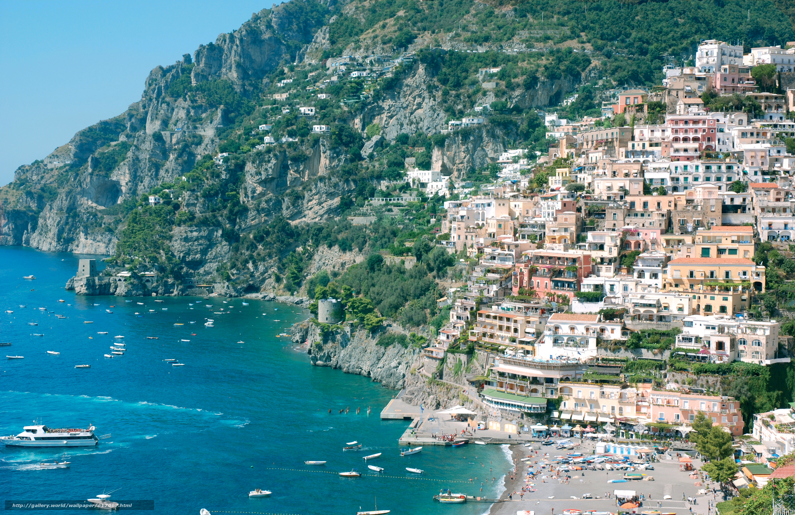 Download Wallpaper Amalfi Italy Coast Free Desktop
