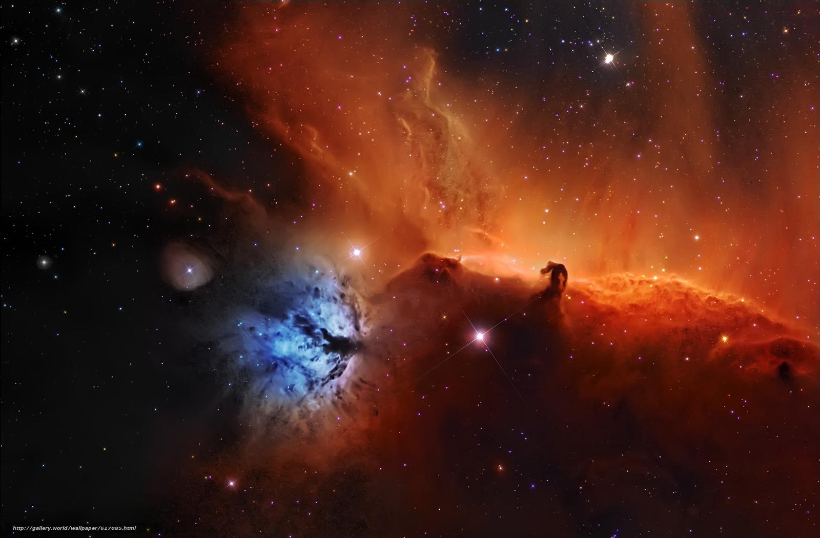 Baixar Wallpaper nebulosa,  Cabeça de Cavalo,  espaço,  Estrela Papis de parede grtis na resoluo 3500x2296 — quadro №617085