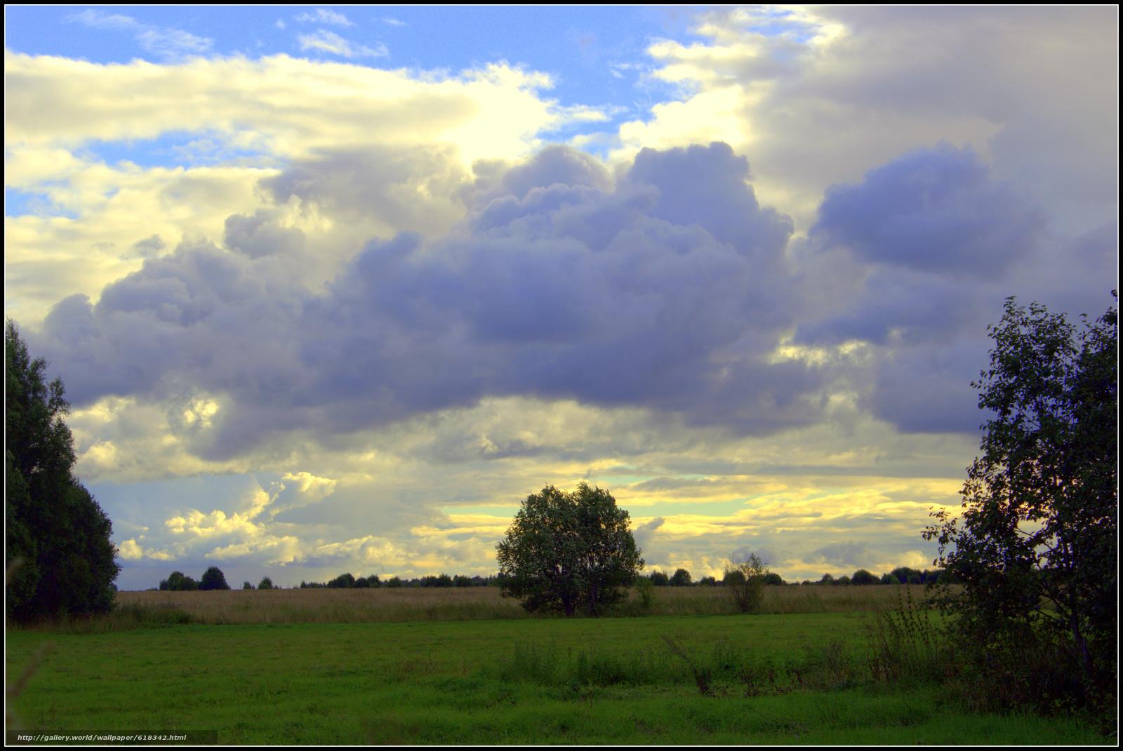 Скачать обои Вечер,  небо,  облока,  тучи бесплатно для рабочего стола в разрешении 5252x3515 — картинка №618342