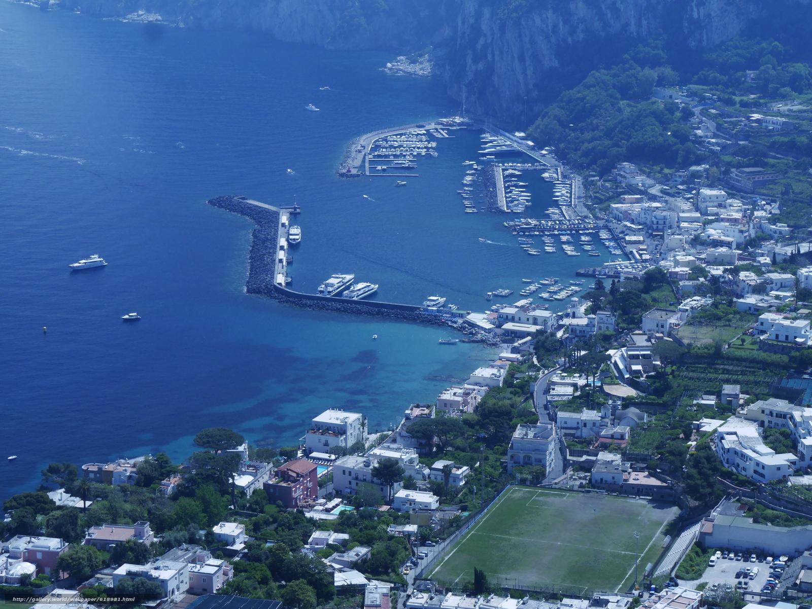 Scaricare Gli Sfondi Isola Di Capri Italia Italia Sfondi Gratis