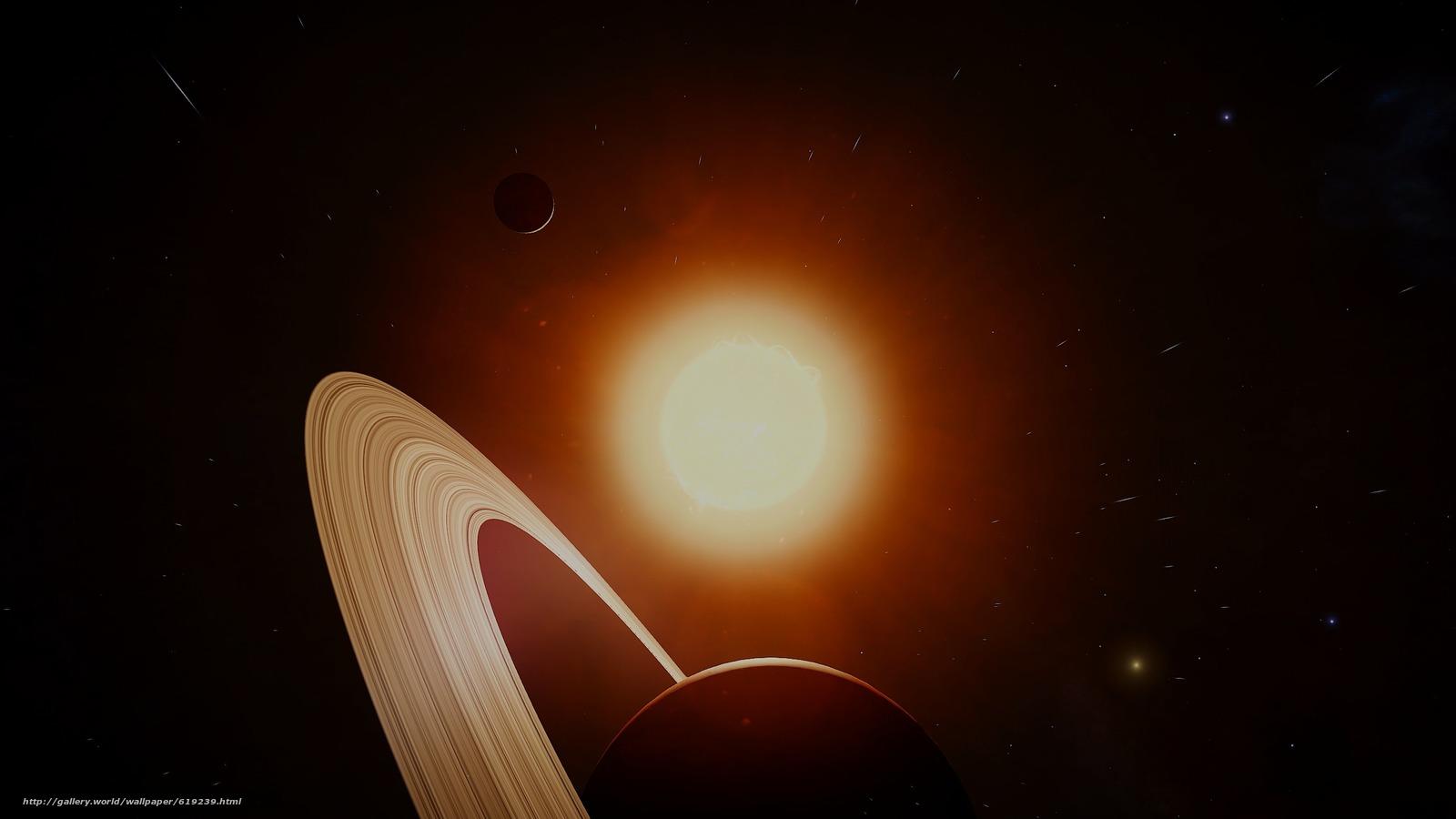 Descargar gratis Saturno,  sol,  Estrella,  espacio Fondos de escritorio en la resolucin 2560x1440 — imagen №619239