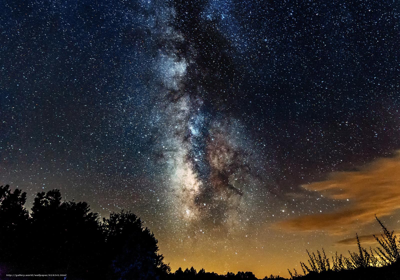 Tlcharger Fond Decran Ciel étoile Nuit Voie Lactée Fonds
